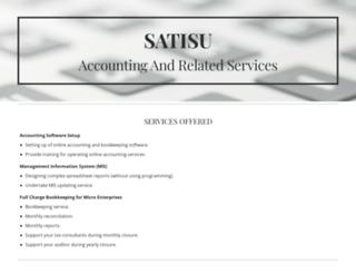 satisu.in screenshot
