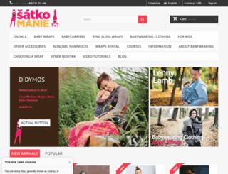 satkomanie.cz screenshot