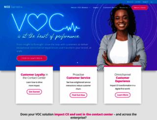 satmetrix.com screenshot