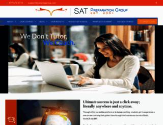satprepgroup.com screenshot