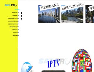 satpro.com.au screenshot