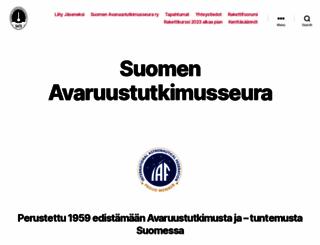 sats-saff.fi screenshot