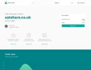 satshare.co.uk screenshot