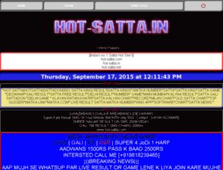 satta-kinng.com screenshot