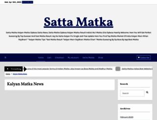 satta-matka.net screenshot