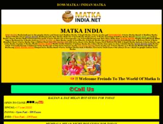 sattaamatka.net screenshot