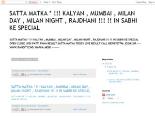 sattamatkatop.blogspot.com screenshot