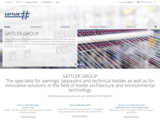 sattler-ag.com screenshot