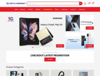 satugadget.com.my screenshot