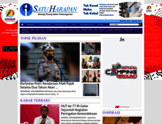 satuharapan.com screenshot