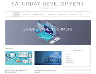 saturday-development.com screenshot