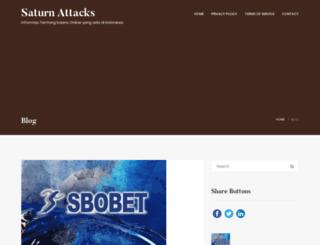 saturnattacks.com screenshot