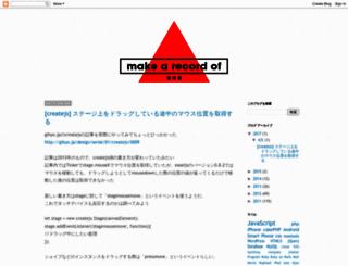 satussy.blogspot.jp screenshot