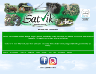 satvik.co.za screenshot