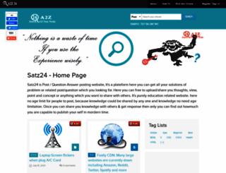 satz24.com screenshot