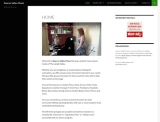 sauconvalleymusic.com screenshot