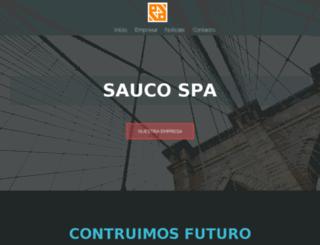 saucospa.com screenshot