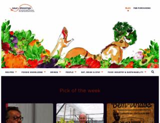 saucydressings.com screenshot