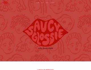 saucyglossie.com screenshot