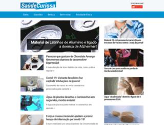 saudecuriosa.com.br screenshot