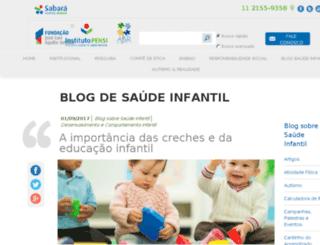 saudeinfantil.blog.br screenshot