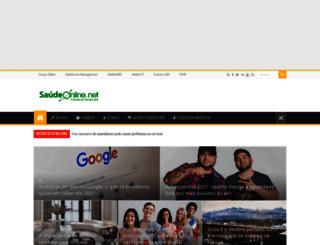 saudeonline.grupomidia.com screenshot