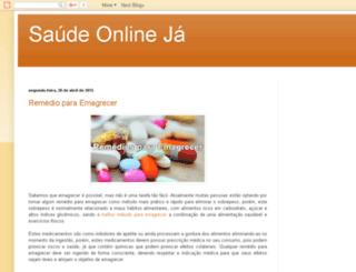 saudeonlineja.blogspot.com.br screenshot
