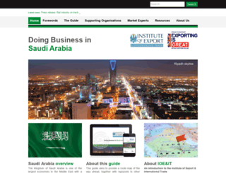 saudiarabia.doingbusinessguide.co.uk screenshot