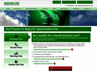 saudiarabiavisa.co.uk screenshot