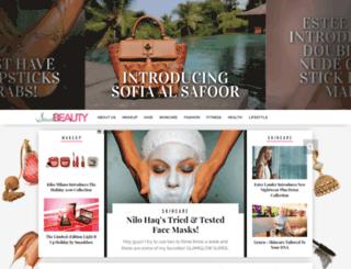saudibeautyblog.com screenshot