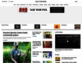 saultthisweek.com screenshot
