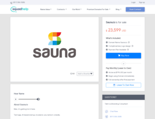 sauna.io screenshot