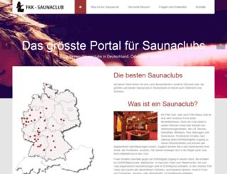 saunaclub.info screenshot