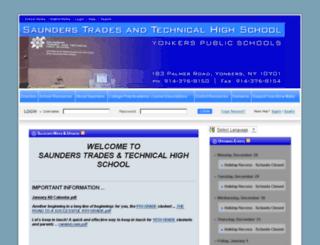 saunders.ypschools.org screenshot