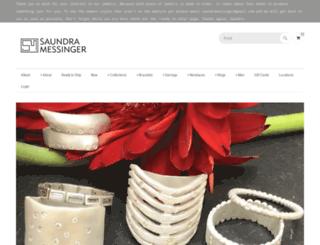 saundramessinger.com screenshot