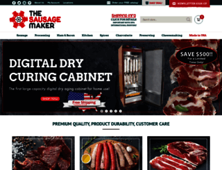 sausagemaker.com screenshot