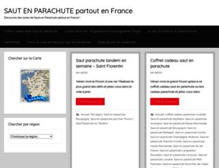 sauts-en-parachute.fr screenshot