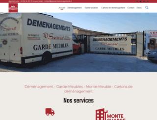 sauvat-demenagements.fr screenshot