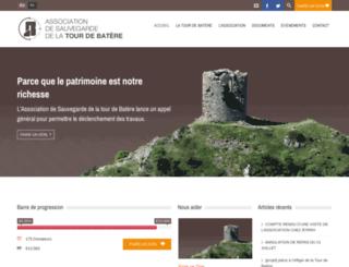 sauvegardetourdebatere.org screenshot