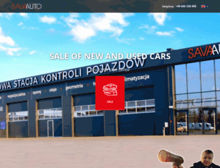 savaauto.eu screenshot