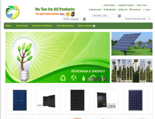 savanasolar.com screenshot