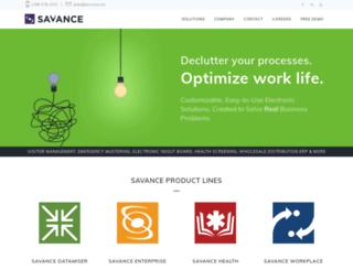 savance.com screenshot