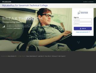 savannah.mylabsplus.com screenshot