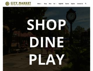 savannahcitymarket.com screenshot
