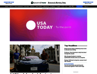 savannahnow.com screenshot
