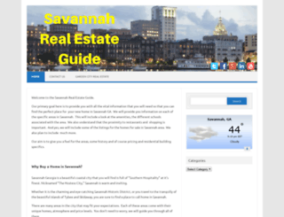 savannahrealestateguide.com screenshot