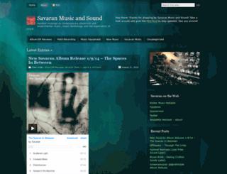 savaranmusic.wordpress.com screenshot