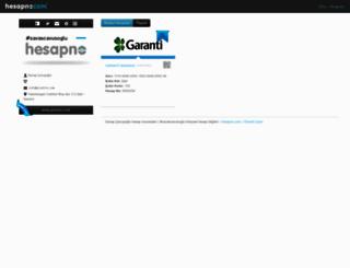 savascavusoglu.hesapno.com screenshot