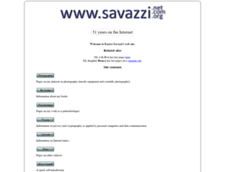 savazzi.freehostia.com screenshot