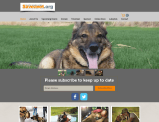 save-a-vet.org screenshot